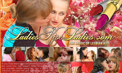 Ladies Kiss Ladies