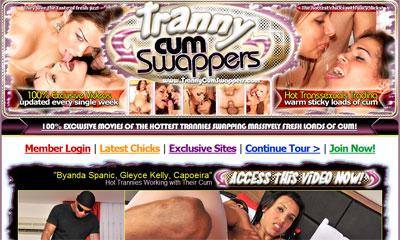 Tranny Cum Swappers